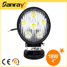 4 inch CE ip67 18w car led spot light for truck offroad