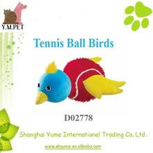 New Dog Toys Tennis Ball Birds for Dog Playing