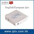 européenne iptv 200 chaînes iptv récepteur samsat récepteur numérique par satellite récepteur tv box android à puce avec biss et cccam
