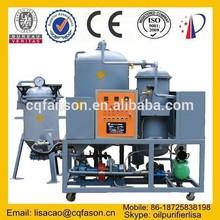 Low temperature distillation technology 80% power saving used engine oil regeneration machine
