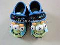 2014 novo design pouco padrão monstro sapatos de bebê crianças sapatos fechados para meninos