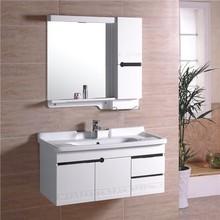 2014 top quality paint colors wood doors Bathroom Cabinet