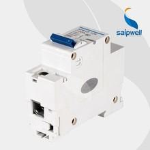 SAIP/SAIPWELL New China 4 Poles Circuit Breaker Earth Leakage Type 63A Mini Circuit Breaker