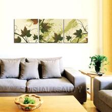 Maple Leaves Wall Panel Art Canvas Paintings
