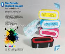 2014 Mini Portable Bluetooth Speaker wholesale bluetooth speaker with fm, tf card and usb flash