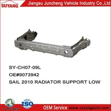 Car Metal Parts Chevrolet New Sail 2010 Radiator Support LOW