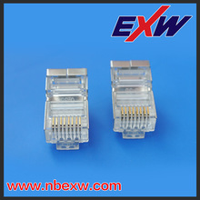 shielded unshielded RJ45 male Connector