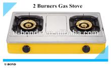 double burners gas stove