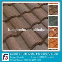Against Sun Heat Stone Metal Roof Tile