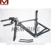 2015 hidden brake TT frame carbon TT bike frame with TT bar
