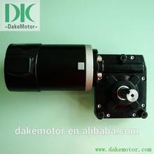 worm gear motor 12V24V 250W with high torque electric wheel hub motor