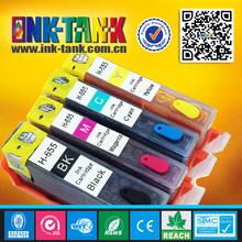 Used deskjet 3525 4615 4625 printer refill ink cartridge for hp 655