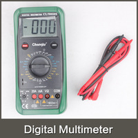AC/DC Professional Digital Multimeter with mutimeter pen line free shipping via China Post Air Mail batteries not included