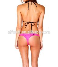 Classic Adjustable Top Young Gilrs Sexy Scrunch Brazilian Swimwear Bikini