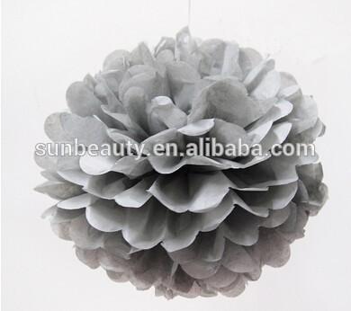 ดอกไม้ประดิษฐ์ตกแต่งสำหรับงานแต่งงานpompomsเศษไม้เชียร์ลีดเดอร์