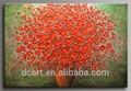 fantástico buquê bonitoimagem na tela quente vender faca de paleta flor pintura a óleo