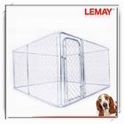 2014 wholesale galvanize tube metal large breed dog houses