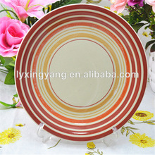 """Top quality 10.5"""" dinner plate stoneware ,handmade plates decoration for the home gift"""