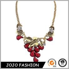 Wholesale fashion jewelry alloy necklace design necklace initial disc pendant necklace