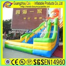 New design inflatable octopus water slide