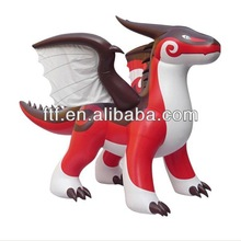 most popular pvc red giant Zenith Dragon type giant inflatable Zenith Dragon