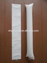 eco printed advertisement biodegradable color inflatable white plain bang stick