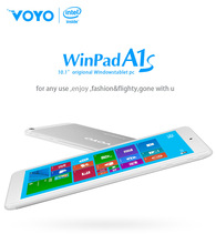 Cheap VOYO A1S Tablet PC Intel Z3735F quad-core Window8.1 Front 2.0MP/2.0MP WIFI Bluetooth GPS 10 inch android tablet
