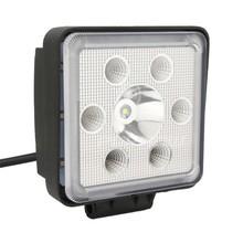 High power LED work Light, black aluminum housing, spot or flood beam 28w