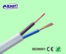 low voltage bare copper Stranded core RVV power cable