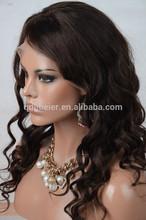 Libeier Beauty Body Wave Human Hair Full Lace Wigs 6A Hair Wigs