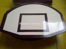 Fan Shape Timber Basketball Backboard