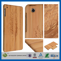 C&T Natural Tree Wood Bamboo Wooden Cover Case for ipad air2 wood cover