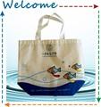 Pequeño y encantador bolso de compras de pescados