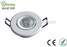 1w 3w 5w recessed modern led ceiling lights 220v hot item high quality