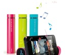 new product for smart phone mobile powerbank with speaker external Portable battery charger