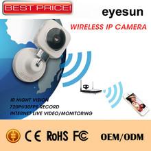 NEW!!! Wireless IP Camera, P2P mini hidden camera wall