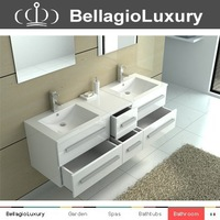 Wall Mounted Bath Cabinet, European style Cabinet, ceramic bathroom vanity