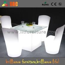PE lighting hotel banquet chair for bar club pub