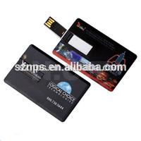 Credit card usb flash drive wholesale customize usb pendrive