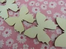 Custom scrapbooking wooden letters