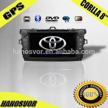 2012 Toyota Corolla Car DVD with GPS Navigation /Touch-Screen/Bluetooth/ipod /TV/Radio/Multi-lauage/WIFI/USB/