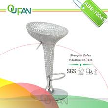 Oufa crystal leather high bar table outer stool ABS-1004SP