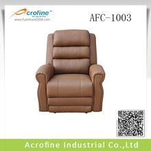 Ergonomic trend reclining sofa with sofa feeling