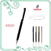 twist mechanism metal ballpoint pen wiht customed logo