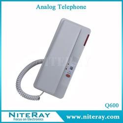 Wall mounted telephone hotel telephone analog phone Q600