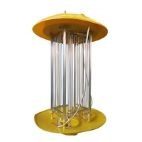 solar pest killing lamp/ solar insect killer/ UV lamp for farm/ orchard/ yard