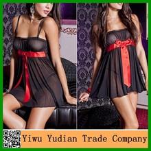Atacado transparente Hot Sexy vestido Nighty imagem