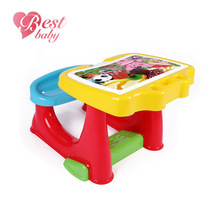 High quality multifunction child study table chair