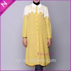 newest sweet muslim women's lace blouse