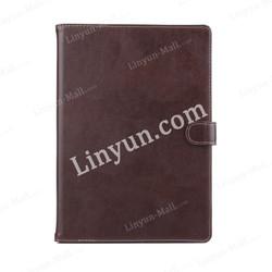 personal custom Retro Plain genuine leather cover for i Pad air 2